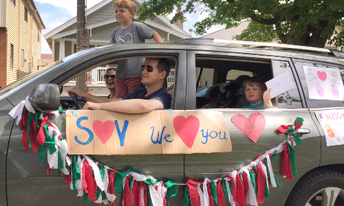 "Drive ""Bye"" Parade Ends Year on a Happy Note"
